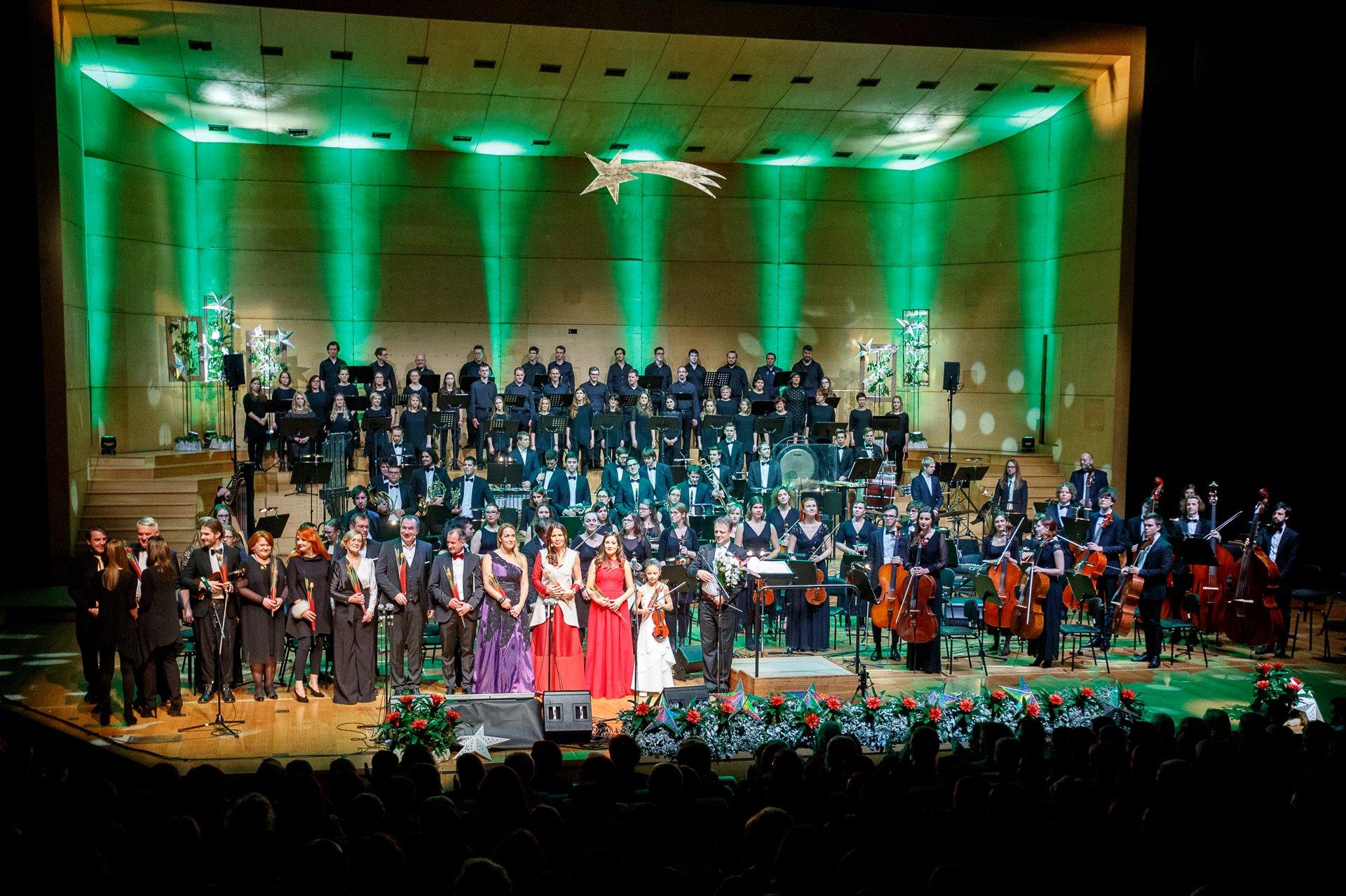Gala novoletni koncert - Božič v Ljubljani