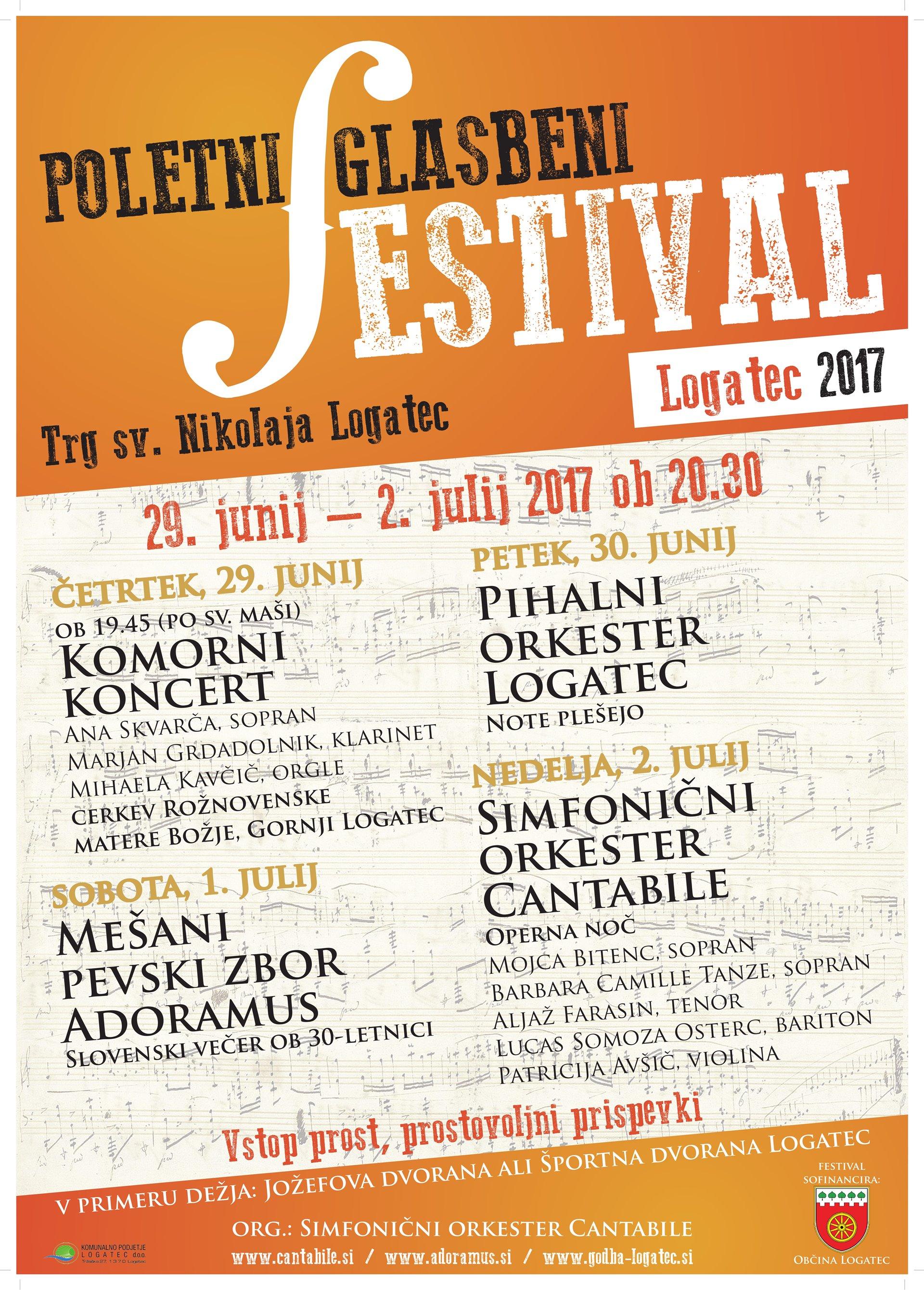 Poletni glasbeni festival Operna noč